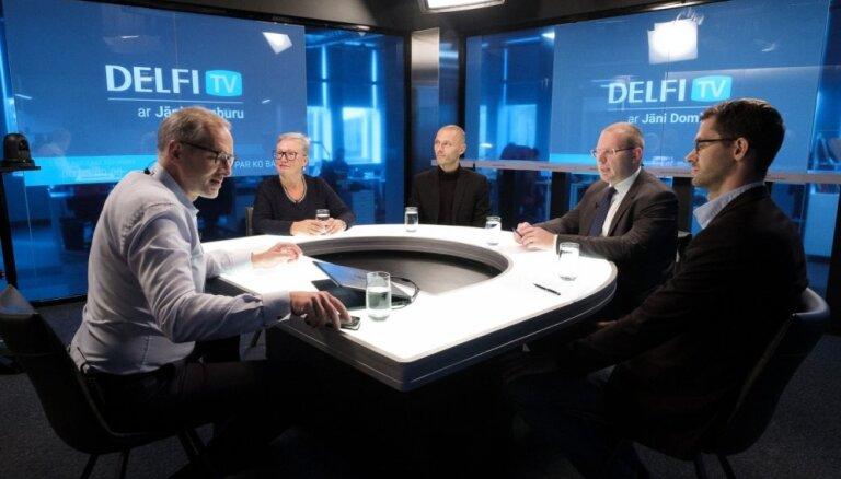 'Delfi TV ar Jāni Domburu' diskusija – ko sagaidām ārpolitikā
