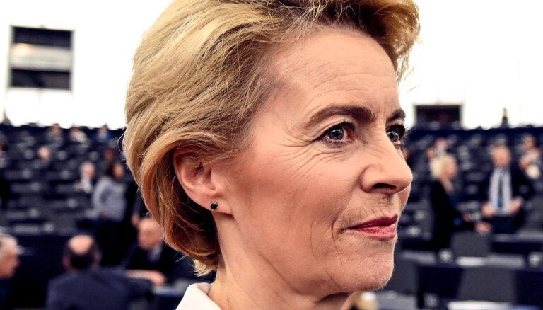 'Delfi' no Strasbūras: EP apstiprina jauno EK kolēģiju fon der Leienas vadībā