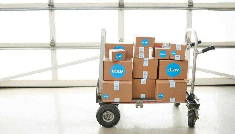 Pārdevēju skaits no Latvijas pēdējo trīs mēnešu laikā 'eBay' palielinājies par 50%