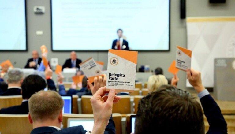 LFF par ārkārtas kongresu ziņos tikai pēc pārbaudēm