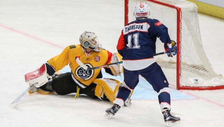 Merzļikina 'Lugano' IIHF Čempionu līgas 1/4 finālā spēkosies ar divkārtējiem čempioniem 'Frolunda Indians'