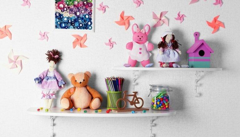Radošas idejas radošu bērnu istabām