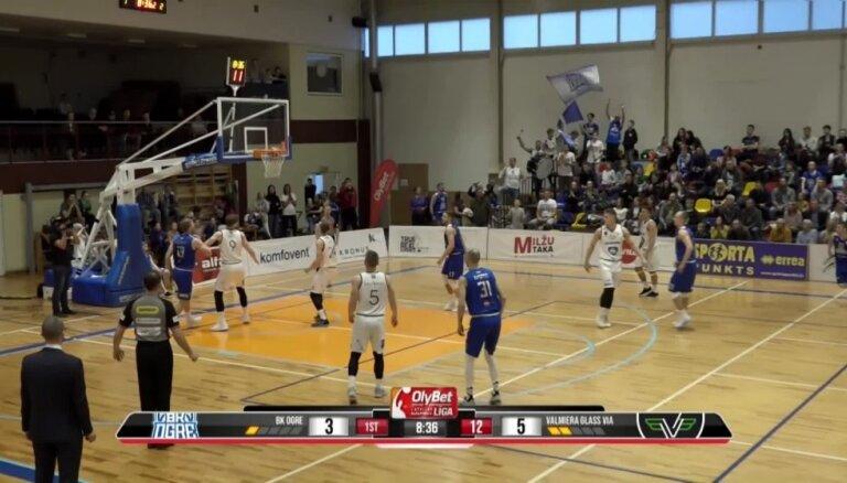 OlyBet Latvijas Basketbola līga: 'Ogre' - 'Valmiera glass/ViA'. Spēles labākie momenti (09.04.2019.)