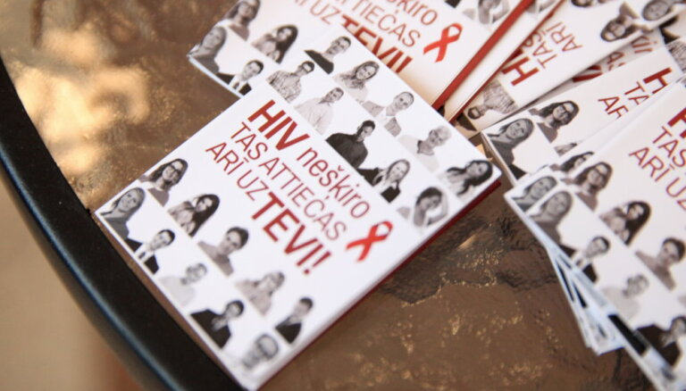 Статистика: Каждый 75-й рижанин может быть носителем ВИЧ