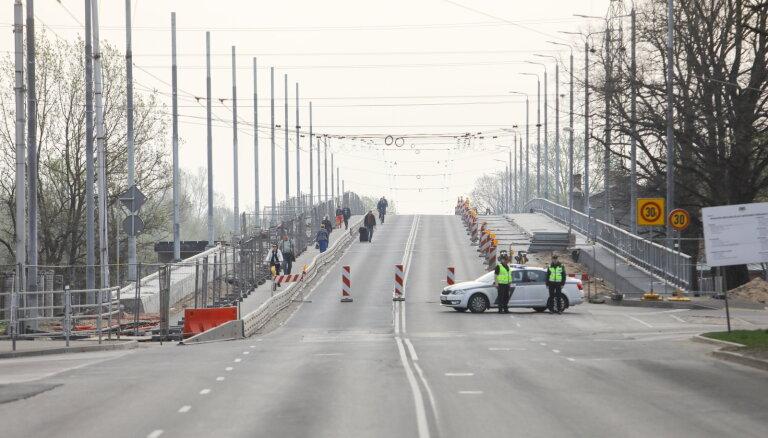 Глава МВД подозревает, что в Риге кроме Деглавского моста есть и другие опасные объекты