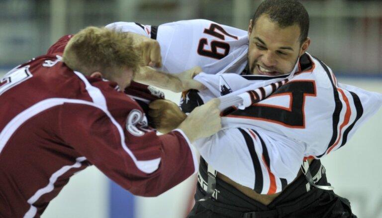 'Amur' hokejistu Aliu par Sestito savainošanu diskvalificē uz vienu spēli