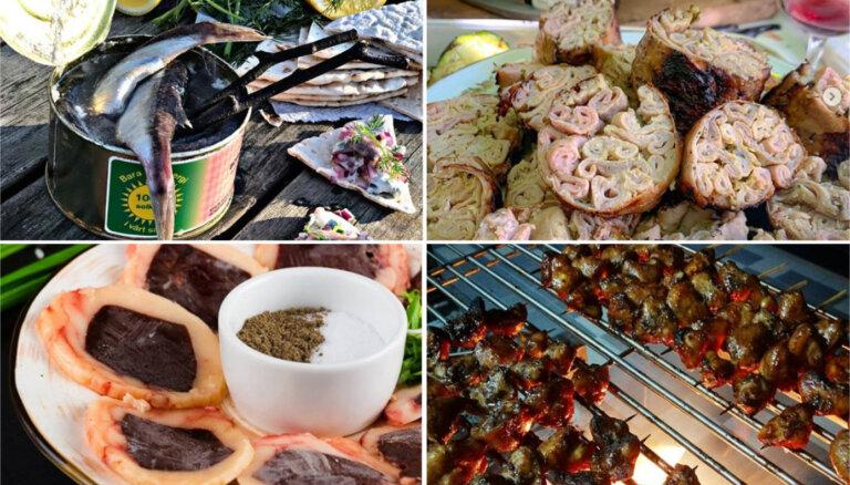 10 neparastas delikateses, kuras riskēs nobaudīt tikai rūdītākie gardēži