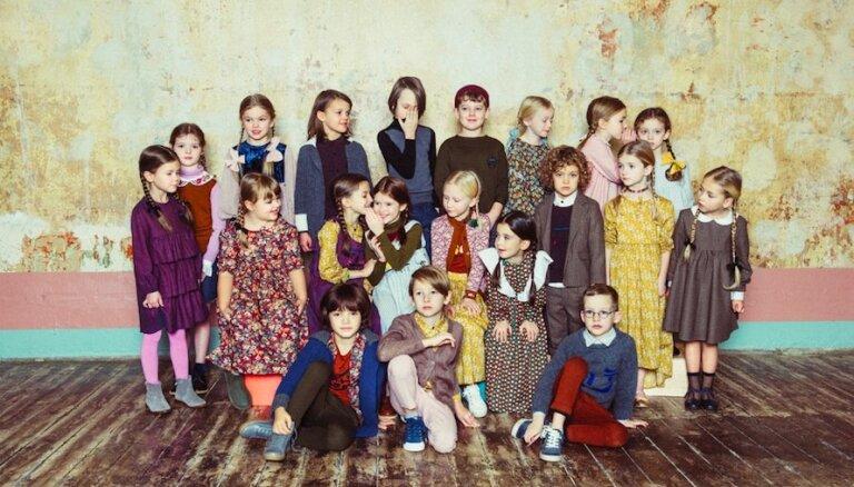 Piedzīvojumiem bagāts ceļojums skolas ikdienā – 'Paade Mode' šā gada bērnu modes rudens/ziemas kolekcija