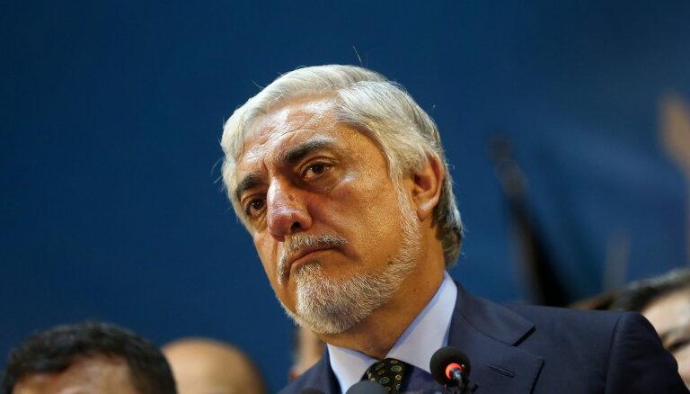 Abdulla pasludina sevi par Afganistānas prezidenta vēlēšanu uzvarētāju