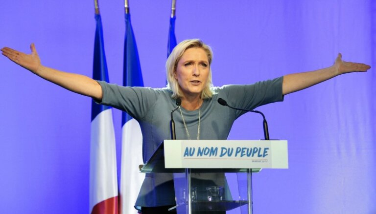 Marina Lepēna sola atgūt Francijas brīvību
