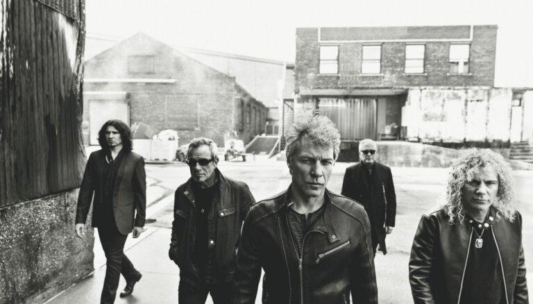 Tallinas Dziesmu svētku estrādē uzstāsies rokgrupa 'Bon Jovi'