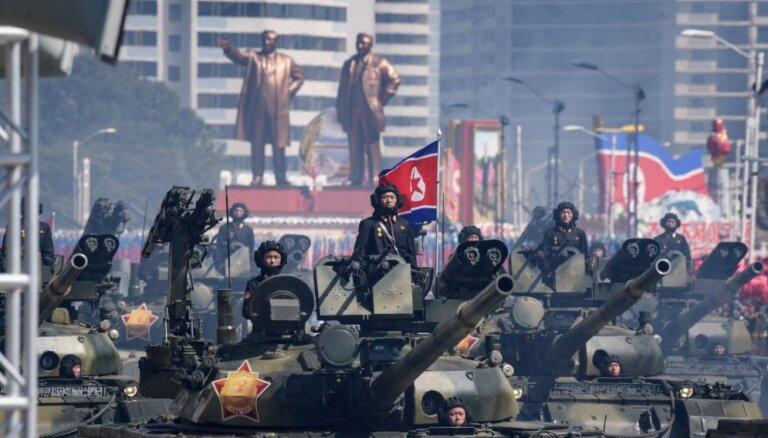 Zem ASV 'Ziemeļkorejas sankciju lupas' pakļūst Latvijas uzņēmums