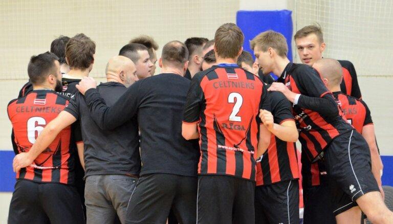 'Celtnieka' handbolisti sasniedz Latvijas čempionāta finālu