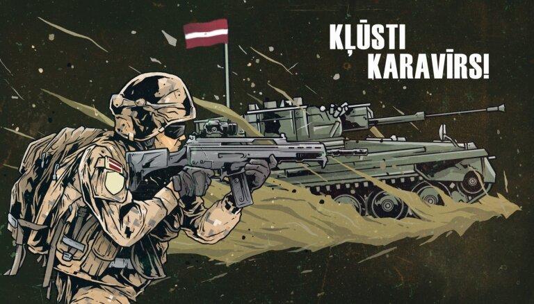 Latvijas armija: Izvēlies valsts apmaksātas studijas Nacionālajā aizsardzības akadēmijā