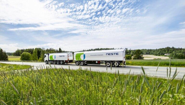 'Neste' klientiem Latvijā piedāvā atjaunojamo dīzeļdegvielu