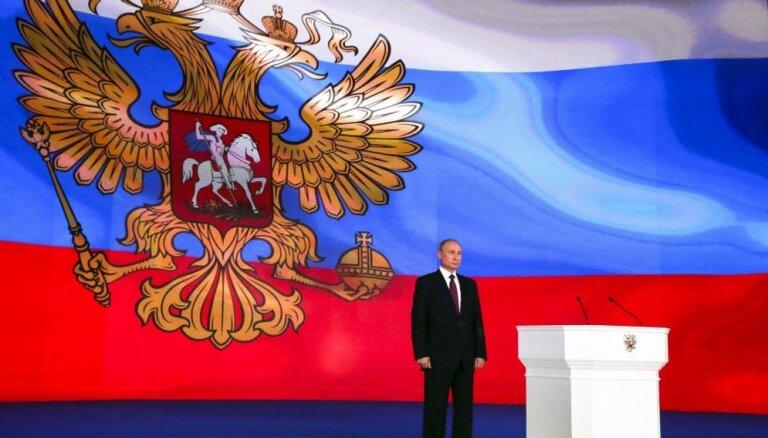 Krievijas Valsts dome pieņēmusi likumu par pretsankcijām ASV un nedraudzīgām valstīm