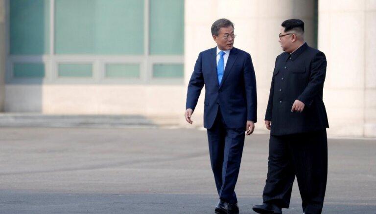 Ministra kandidāts: Dienvidkorejas-ASV militārās mācības būtu jāatliek, lai sarunās iesaistītu Ziemeļkoreju