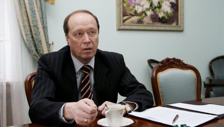 Krievija neapdraud savu kaimiņvalstu drošību, paziņo Vešņakovs