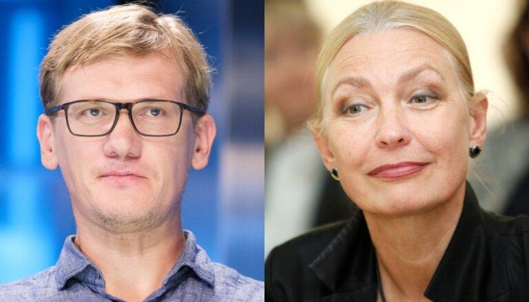 Aktieris Gatis Gāga būs politiķes Ingunas Rībenas znots