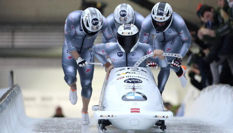 Ķibermanis ieņem 11.vietu Pasaules kausa četrinieku sacensībās