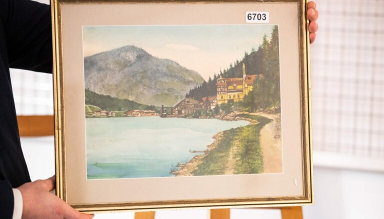 Аукцион по продаже картин Гитлера не состоялся: не нашлось желающих