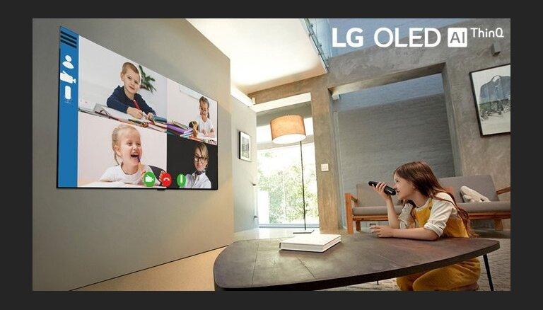 LG OLED TV – labākais televizors darbam vai mācībām no mājām