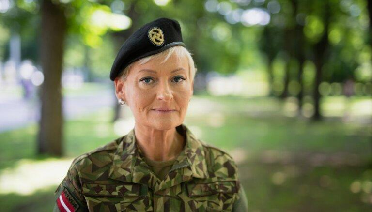Первая и единственная женщина-полковник в истории Латвии: Илзе Жилде — о жизни и службе