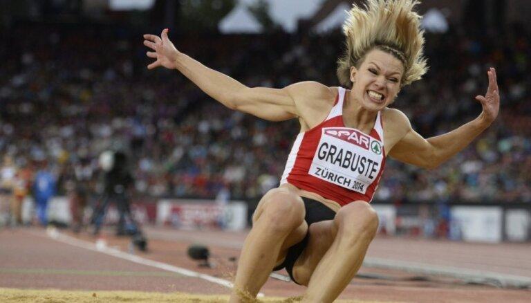 Грабусте прыгнула в тройку, Дафна пронеслась быстрее 11 секунд