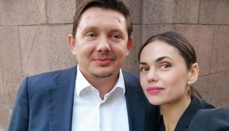 Aktrise Dārta Daneviča apstiprina tuvas attiecības ar deputātu Kaimiņu
