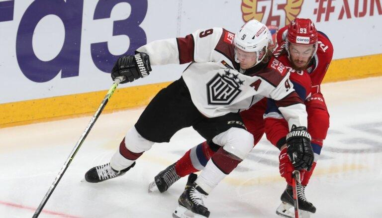 Rīgas 'Dinamo' sezonu sāk cerīgi, bet nenotur divu vārtu pārsvaru
