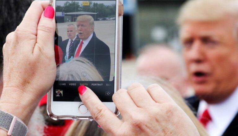 Krievija un Ķīna noklausās Trampa 'iPhone', ziņo NYT