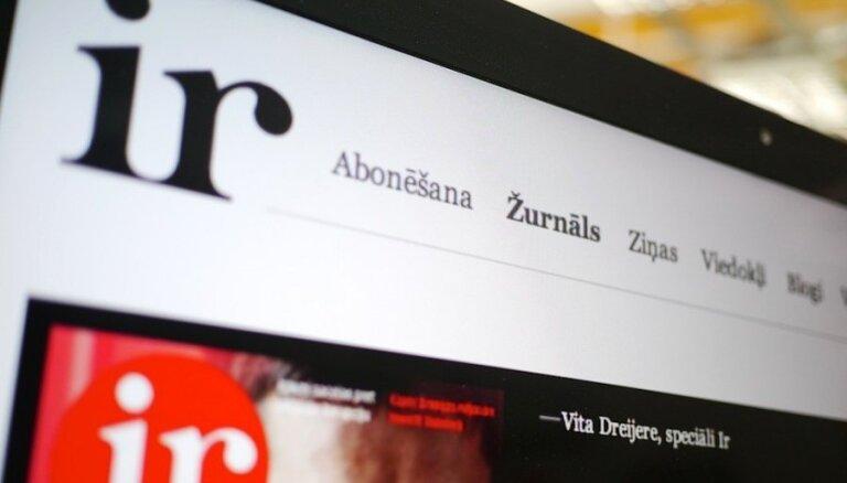 Žurnāla 'Ir' izdevēja apgrozījums pērn pieaug par 1,1%; strādā ar peļņu
