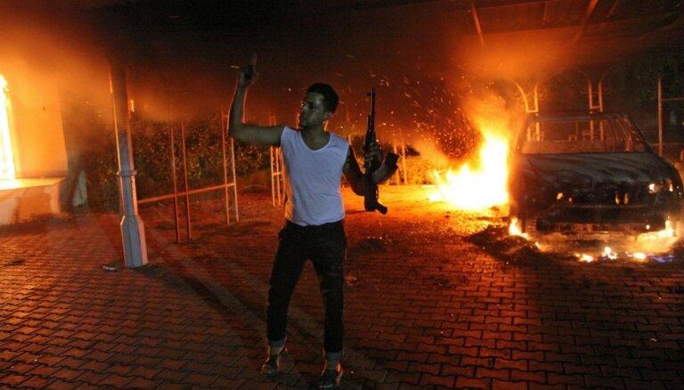 В столице Ливии подверглось атаке посольство России