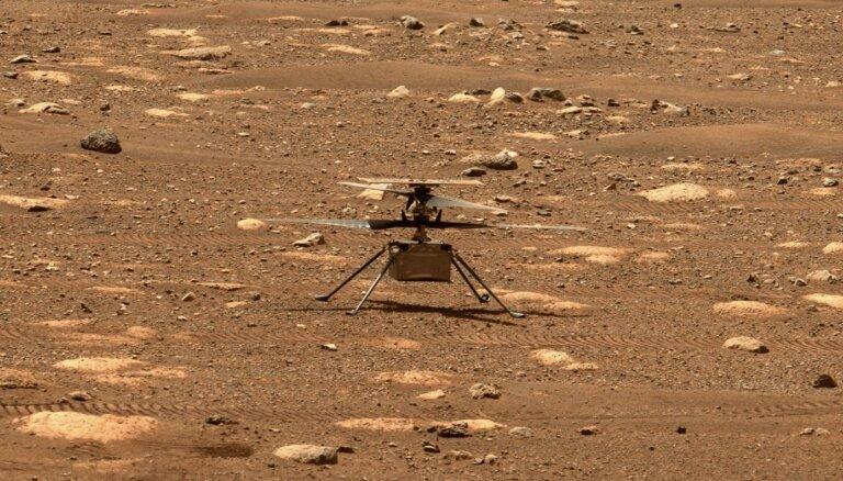 ВИДЕО: Вертолет NASA успешно совершил первый полет на Марсе