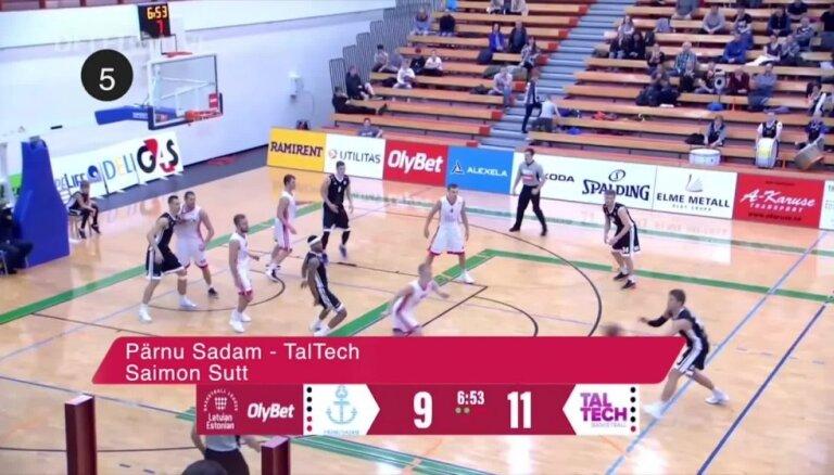 'OlyBet' basketbola līgas TOP 5 (20.11.2018.)