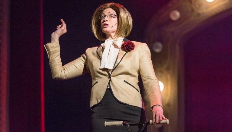 Foto: Nacionālajā teātrī svin Teātra dienu ar uzvedumu 'Ž-ž-Žurka klāt!'