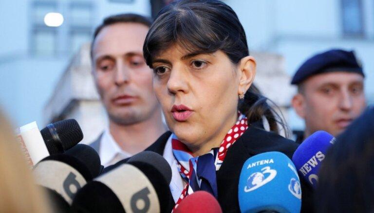 Rumānijas bijusī pretkorupcijas prokurore Keveši apsūdzēta korupcijā