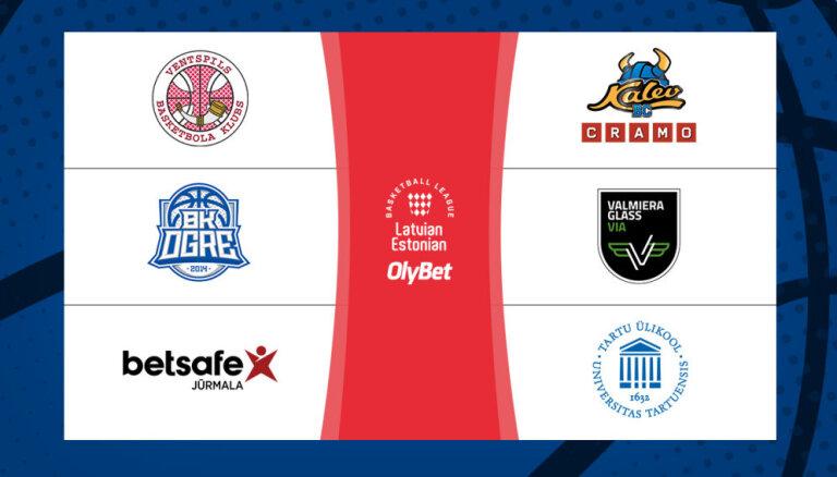 'OlyBet' basketbola līgas regulārās sezonas kulminācija trīs video tiešraidēs