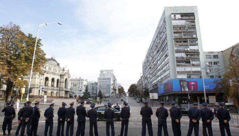 Aizdomas par divām mīnētām Kijevas metro stacijām