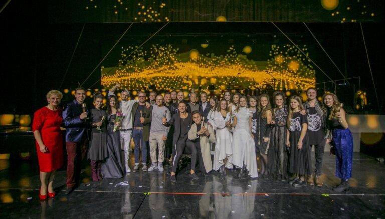 Notiks Latvijas mūzikas ierakstu gada balvas 'Zelta mikrofons' ceremonija