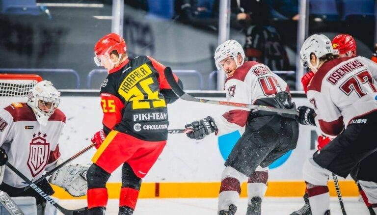 Rīgas 'Dinamo' debitants Marejs: pretinieki bija ļoti meistarīgi