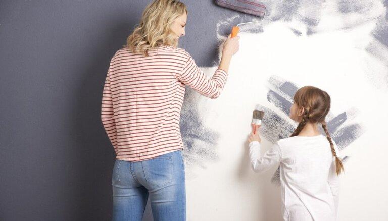 Krāso gudri: kā atpazīt krāsu, kas neizdala veselībai kaitīgas vielas