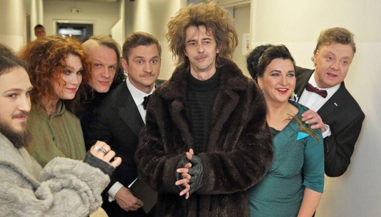 Foto: Kā tapa TV3 grandiozais Jaungada sagaidīšanas koncertšovs