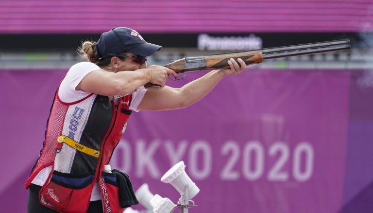 ASV sportisti lauž olimpiskos rekordus stenda šaušanā