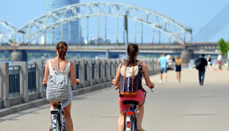 В среду в Латвии будет жара до плюс 23 градусов