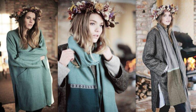 Foto: 'Burz' atrāda savu jauno lina apģērbu kolekciju