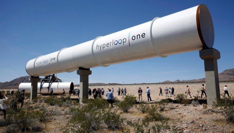 Суперсовременная трасса Hyperloop может быть построена в странах Балтии