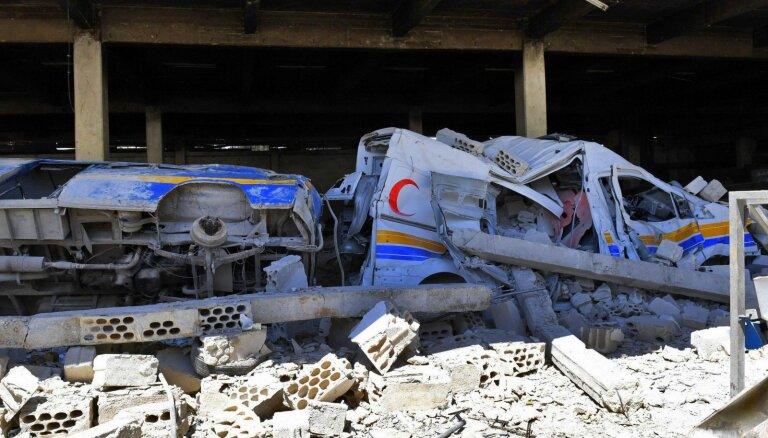 ASV draud atmaksāt Bašara režīmam par jaunu ķīmisko uzbrukumu Idlibā