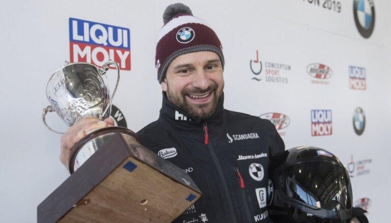 Martins Dukurs kļūst par seškārtēju pasaules čempionu