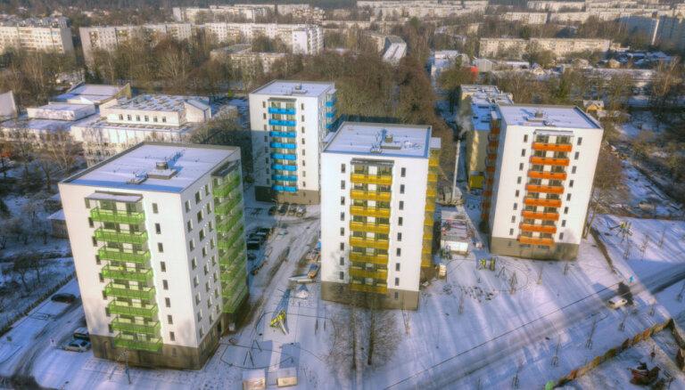 В эксплуатацию переданы два девятиэтажных дома проекта Akācijas в Иманте